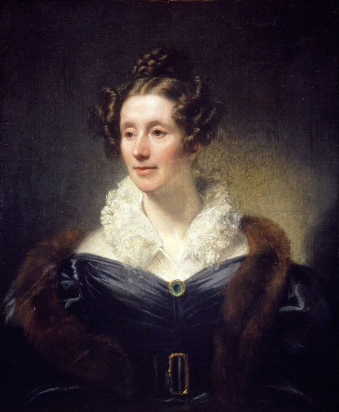 Mary Somerville (Portrait by Thomas Phillips)