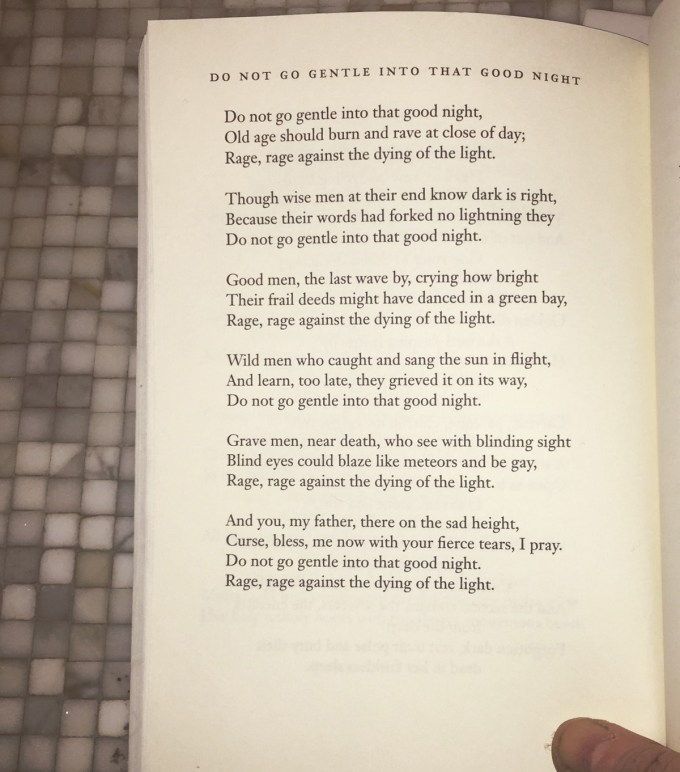 """dylan thomas's do not go gentle Dylan thomas (1914-1953) was a welsh poet popular during his own time his   it has been suggested that """"do not go gentle into that good night,"""" one of his."""