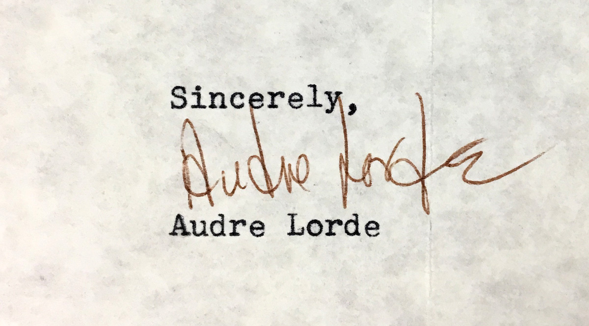 an analysis of the fury in audre lordes power