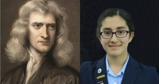 An 8-Year-Old Girl's Poetic Tribute to Newton