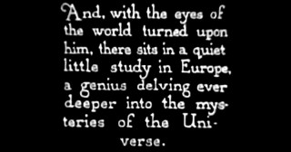 Einstein's Theory of Relativity, Explained in a Pioneering 1923 Silent Film