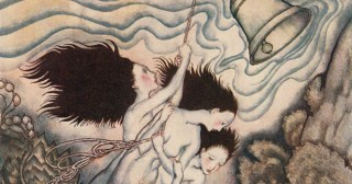 "Arthur Rackham's Stunning 1926 Illustrations for ""The Tempest"""