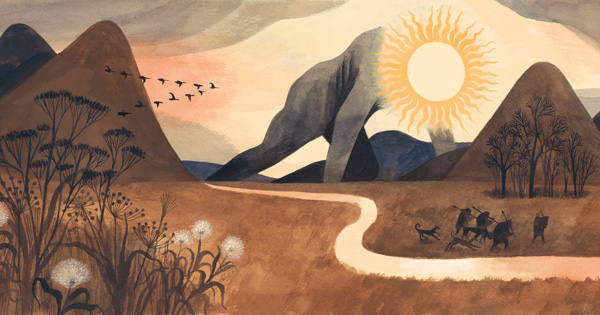 The Shortest Day: A Lyrical Illustrated Invitation to Presence with the Passage of Time, Our Ancient Relationship with the Sun, and the Cycles of Life