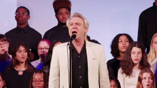 One Fine Day: David Byrne Performs His Hymn of Optimism and Countercultural Anthem of Resistance and Resilience with the Brooklyn Youth Chorus