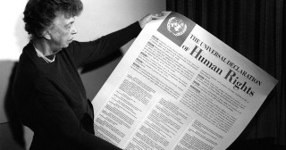 All Human Beings: Eleanor Roosevelt's Reading of the Universal Declaration of Human Rights, Reimagined as a Soulful Serenade to Diversity and Dignity by Composer Max Richter