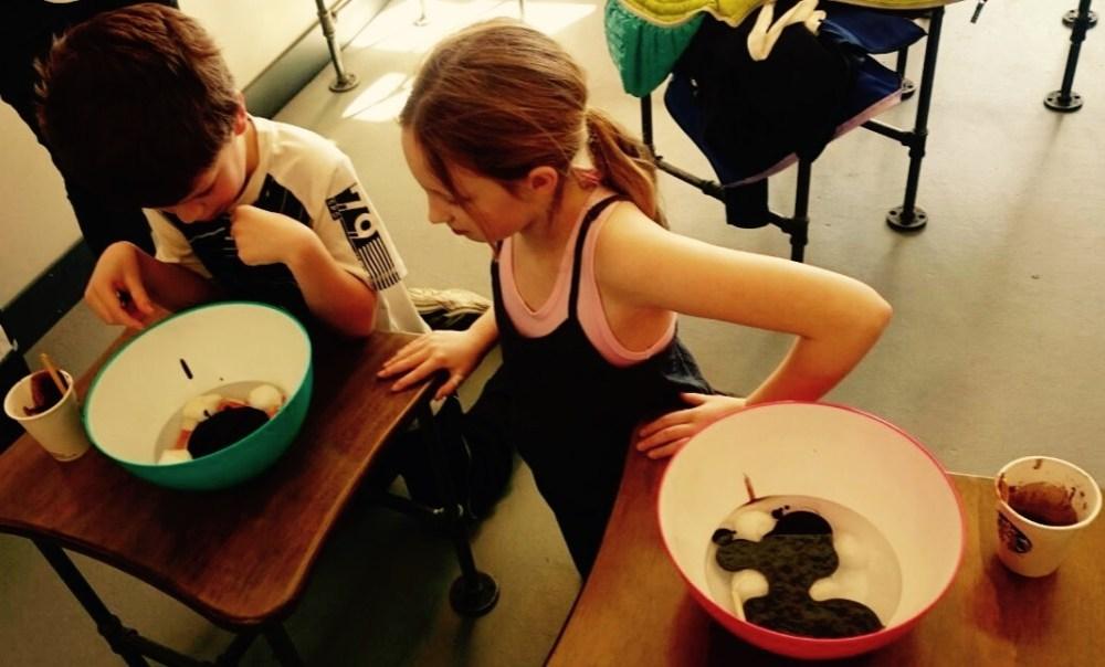 Kids Learning at Brainstem Summer Camp