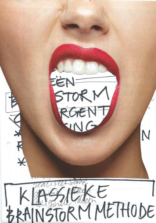 creatief denken, klassieke brainstorm methode, osborn, reclame, directeur, oplossing, associatie, brainstormen, idee, mogelijkheden, oplossingen, fases, divergentie, convergentie, probleemstelling