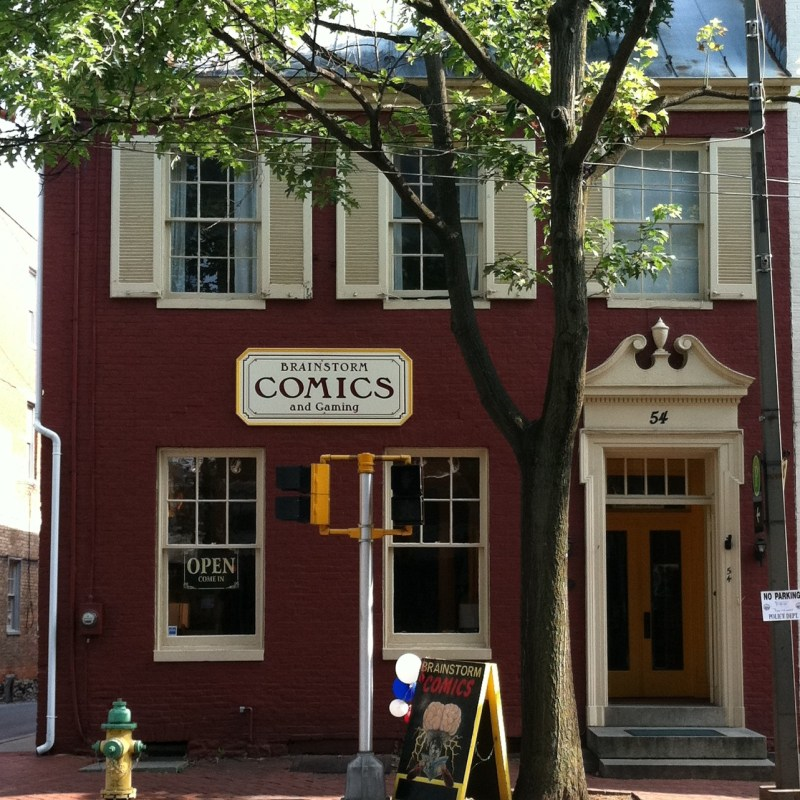 Voted Frederick's best comic book shop!