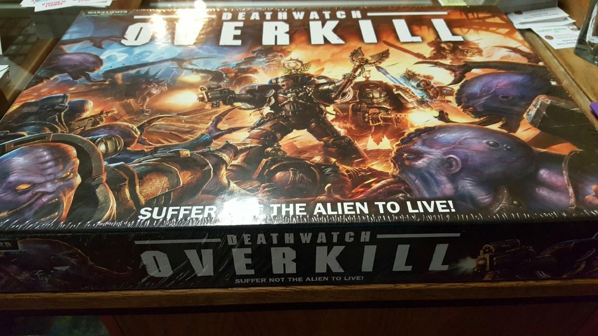 Warhammer 40k Deathwatch Overkill Release