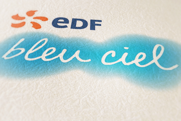 EDF bleu ciel