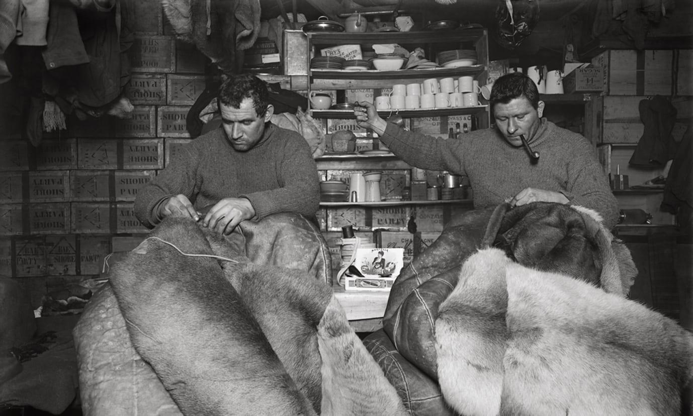 Aus der Antarktis: Gedicht über Schlafsäcke