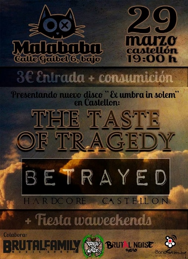 the taste of tragedy