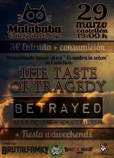 the taste of tragedy