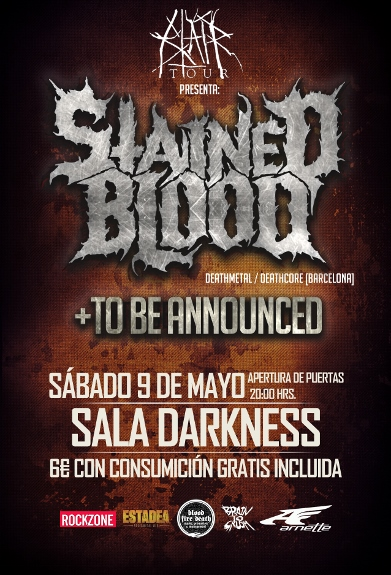 stained blood