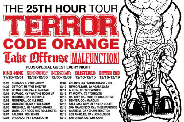 The 25th Hour Tour