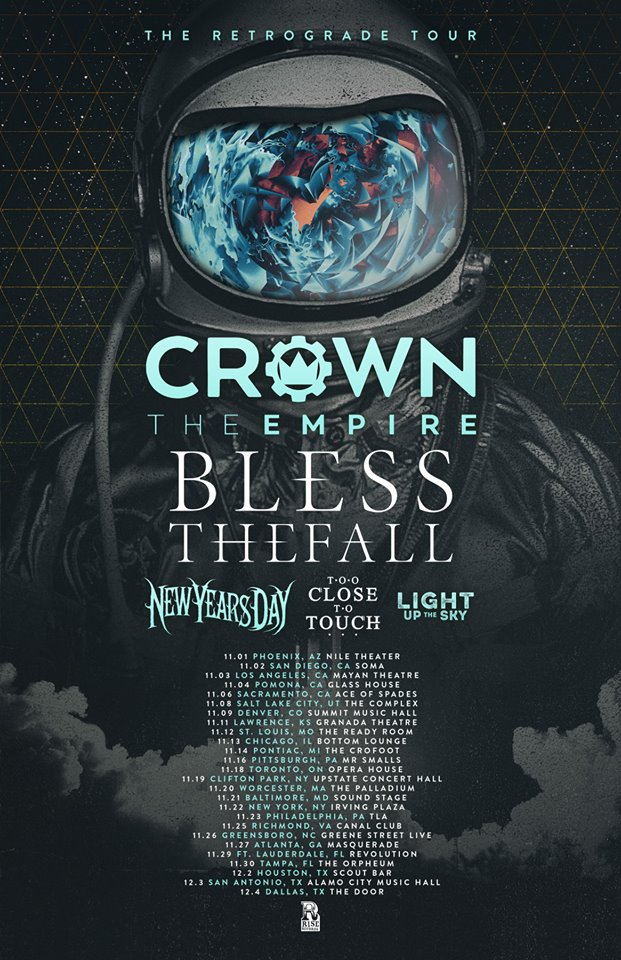 crown the empire usa tour