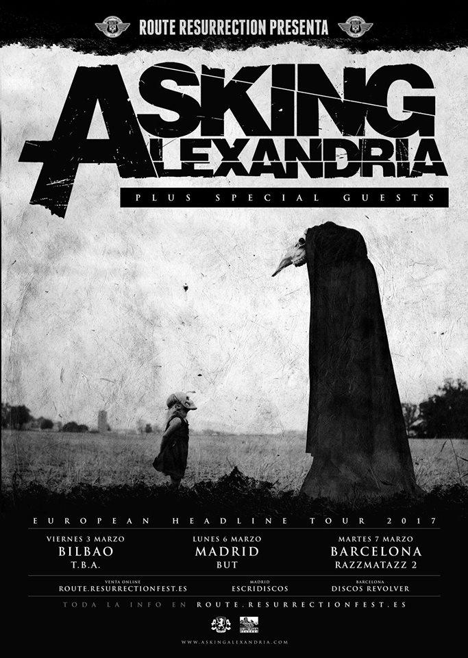 asking alexandria españa