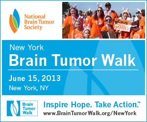 Banner: New York Brain Tumor Walk