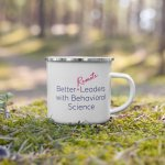 Brainware Enamel Mug