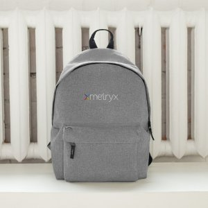 Xmetryx Embroidered Backpack