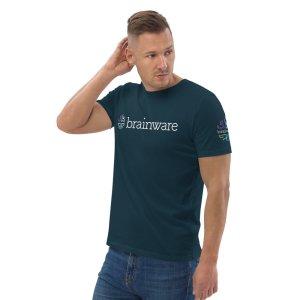 Brainware Unisex Luxury Organic Cotton T-Shirt