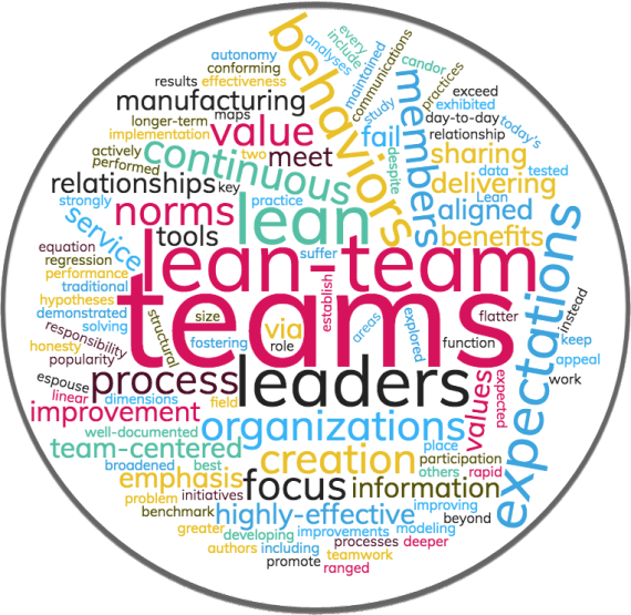 Current Research: Lean-Team Norms and Relationships