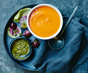 Moroccan-carrot-soup-cleansoups|brainworkskitchen.com