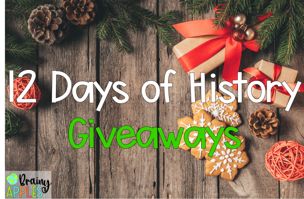 social studies giveaway, US History Curriculum