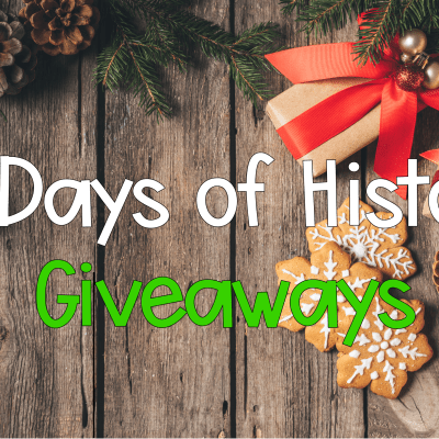 12 Days of Giveaways + Yearlong US History Curriculum