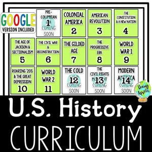 US History Curriculum