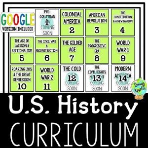 US History Curriculum