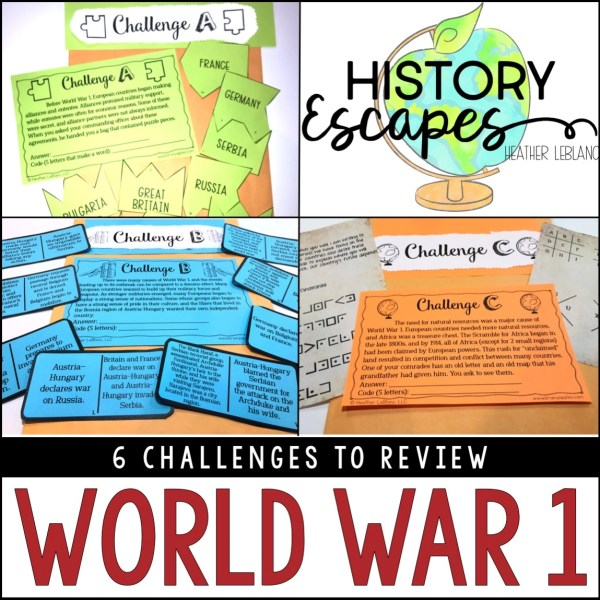 World War 1 Escape Room