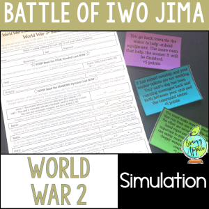 Battle of Iwo Jima simulation