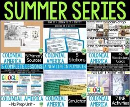 Colonial America Curriculum Unit