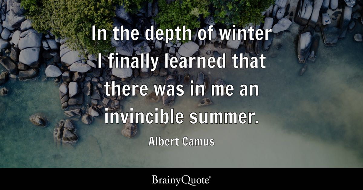 Sick Iphone 4 Wallpapers Albert Camus In The Depth Of Winter I Finally Learned