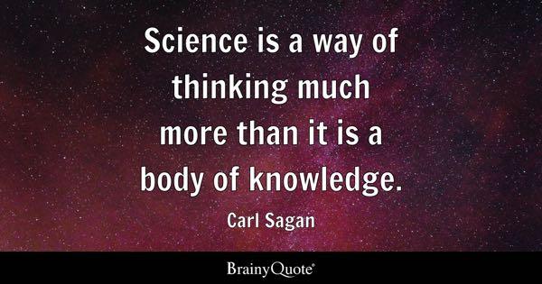 Science Quotes BrainyQuote