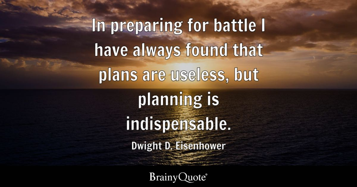 Anger Management Quotes Wallpaper In Preparing For Battle I Have Always Found That Plans Are