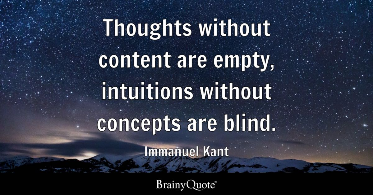 Chanakya Hindi Quotes Wallpaper Immanuel Kant Thoughts Without Content Are Empty