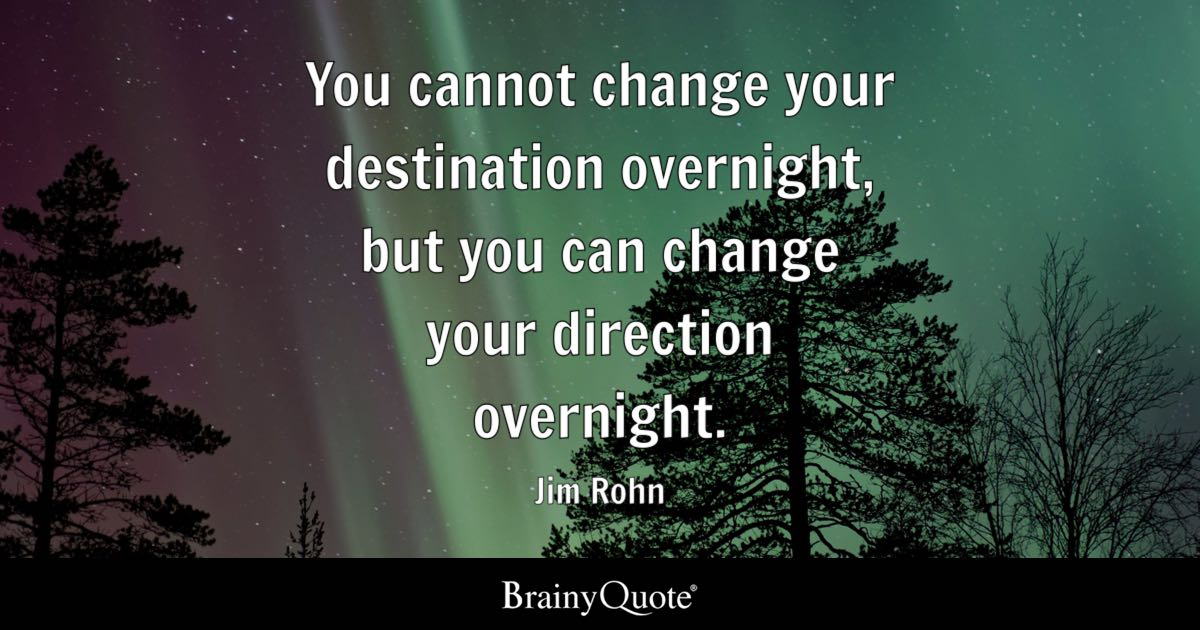Gym Quote Iphone Wallpaper You Cannot Change Your Destination Overnight But You Can