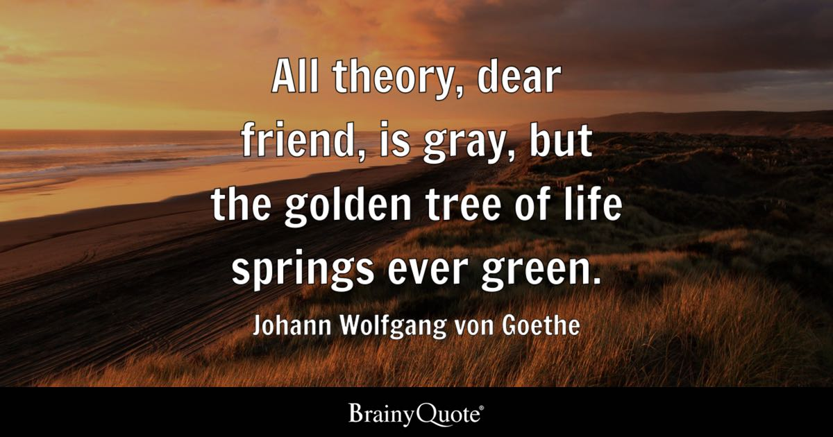 Soccer Quotes Iphone Wallpapers Johann Wolfgang Von Goethe All Theory Dear Friend Is