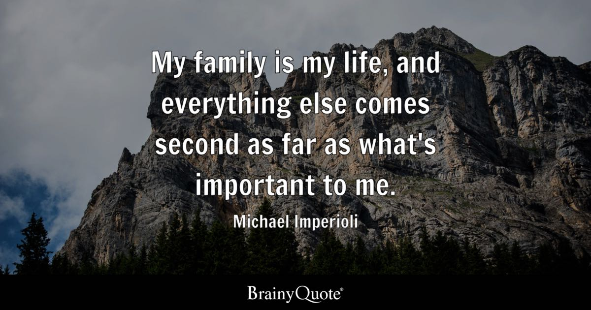 michael imperioli my family