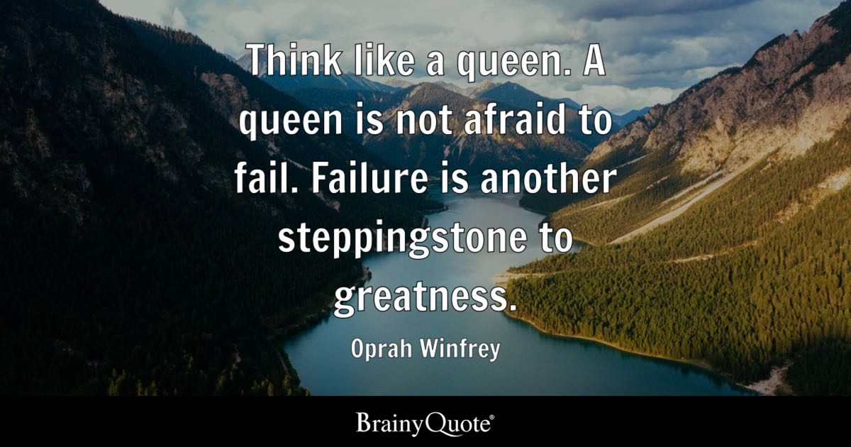 Iphone X Live Wallpaper Low Qualit Think Like A Queen A Queen Is Not Afraid To Fail Failure