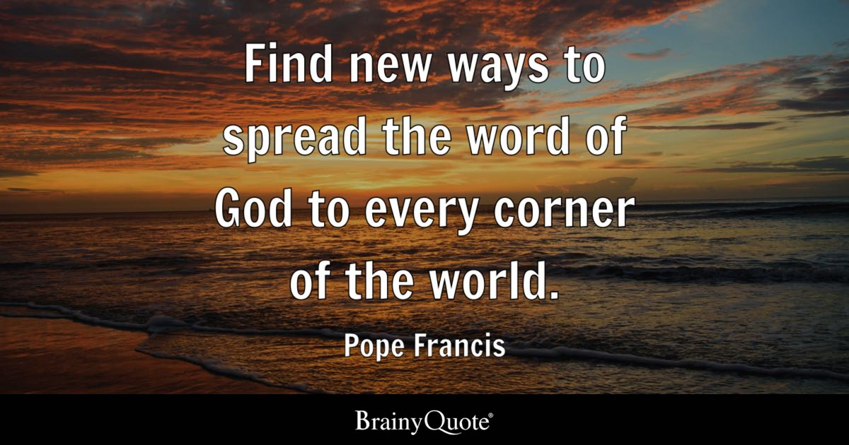 How To Make Live Wallpaper Work Iphone X Pope Francis Find New Ways To Spread The Word Of God To