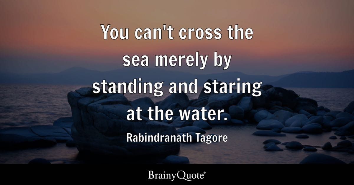 Indian Sweet Girl Wallpaper Rabindranath Tagore You Can T Cross The Sea Merely By