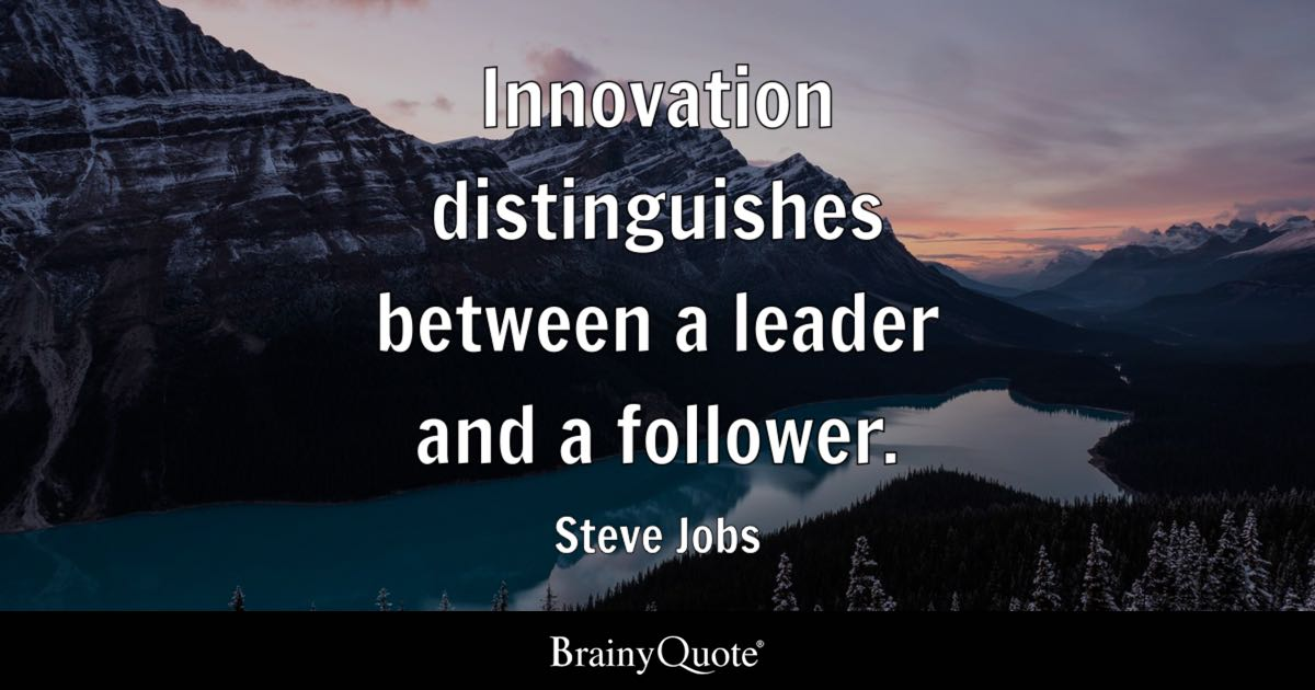 Steve Jobs Iphone Wallpaper Steve Jobs Innovation Distinguishes Between A Leader And