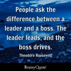 Chairman Meaning In Tamil Black Leather Reception Chairs People Ask The Difference Between A Leader And Boss. Leads, Boss Drives ...