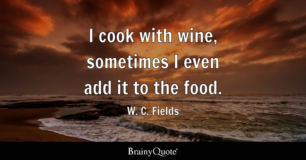 Good Will Hunting Quotes Wallpaper I Cook With Wine Sometimes I Even Add It To The Food W