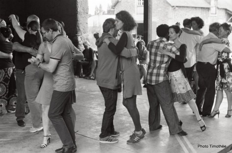 Braise Tango en Balade, milonga à Tizé. Photo Timothée