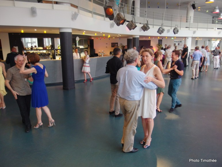 La Belle Milonga au TNB, 3 juillet 2015. Photo Timothée
