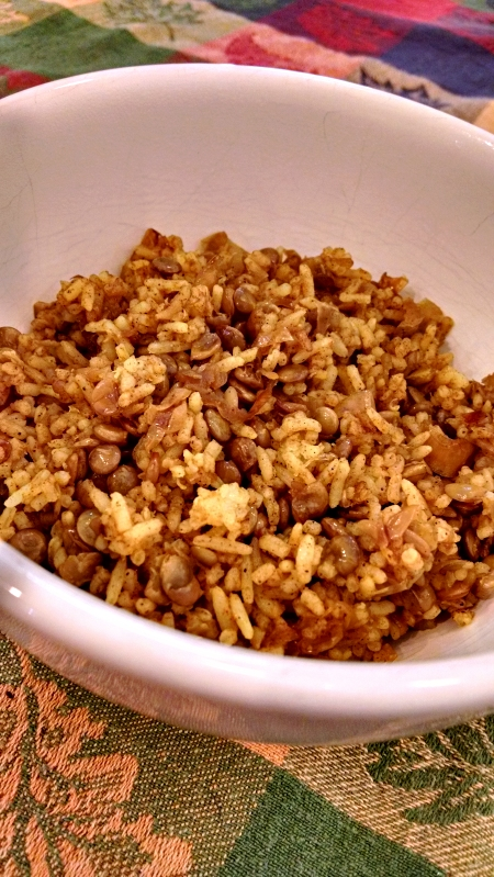 [image: bowl of mujaddara]